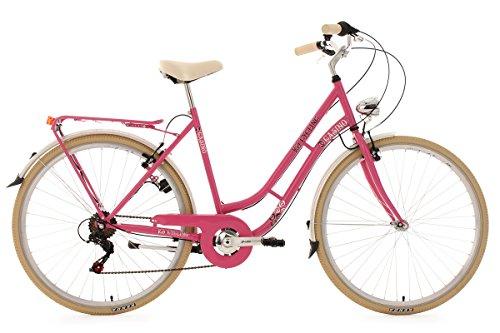 KS Cycling Damen Fahrrad Casino 6 Gänge RH 54 cm, pink, 28 Zoll, 707C