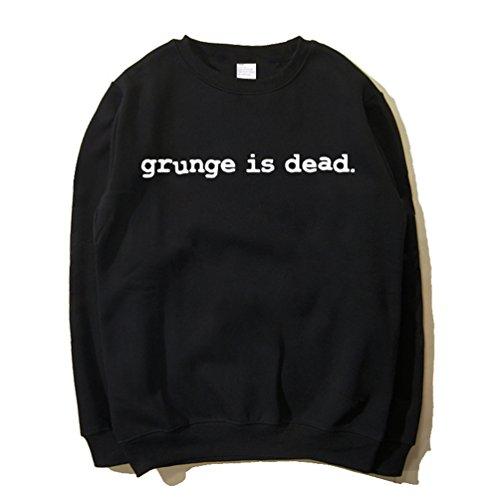 CosDaddy ® Hard Rock Band Schwarz Sweatershirt Pullover Cosplay Kostüm (L, (Cobain Kurt Kostüm)