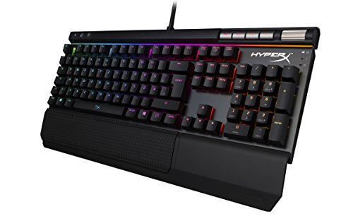 HyperX HX-KB2BR2-DE Alloy Elite RGB Mechanische Gaming Tastatur, Cherry MX Brown (QWERTZ deutsches Layout) -