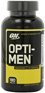 Optimum Nutrition, Opti-Men, Nutrient Optimization System, 180 Tablets