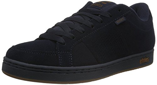Etnies Kingpin Navy Gum Suede Mens Skate Trainers Shoes-12