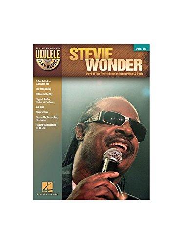 Ukulele Play-Along Volume 28: Stevie Wonder. Partitions, CD pour Ukelele