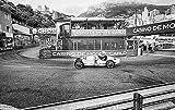 stativkunst Oldtimer Race in Monte Carlo 2.0 - Wandbild in 125x69 cm auf Alu-Dibond