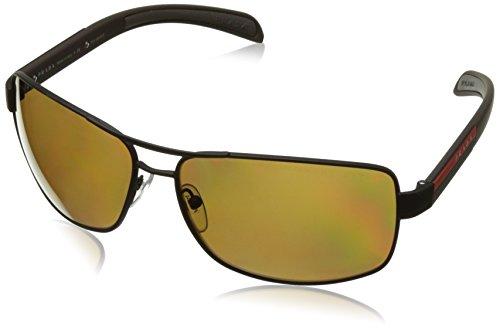 Prada Sonnenbrille Polarized 54ISSUN_UEA5Y1 (65 mm) schwarz