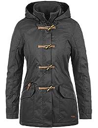 c66e7a28f28fa Desires Brooke Duffle-Coat Abrigo Chaqueta De Invierno para Mujer con Cuello  Alto
