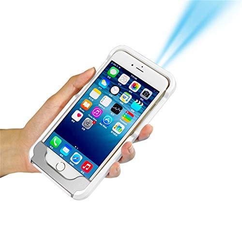 YLOVEK Mobile Beamer FüR 6/6 S/7 Apple Handy Shell Projektor Led Mini Projektor (Apple-handy-projektor)