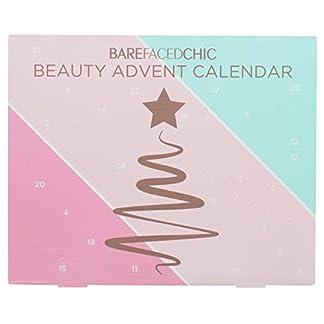 Calendario de Adviento Belleza Maquillaje Barefacedchic Calidad Festive Navidad Regalo
