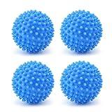 4 Pieces Dryer Balls Reusable Tumble Dryer Balls Laundry Dryer Balls Washing Balls Fabric Softener Balls for Washing Machine Laundry