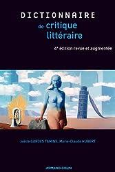 Dictionnaire de la critique littéraire - 4e éd.