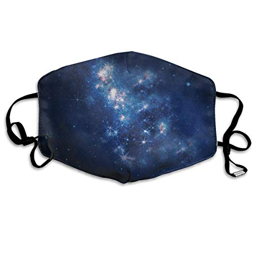 Kostüm Galaxy Gear - Masken, Masken für Erwachsene, Unisex Unique Mouth Mask, The Distant Galaxy Funny Logo Polyester Anti-dust Masks - Fashion Washed Reusable Face Mask for Outdoor Cycling
