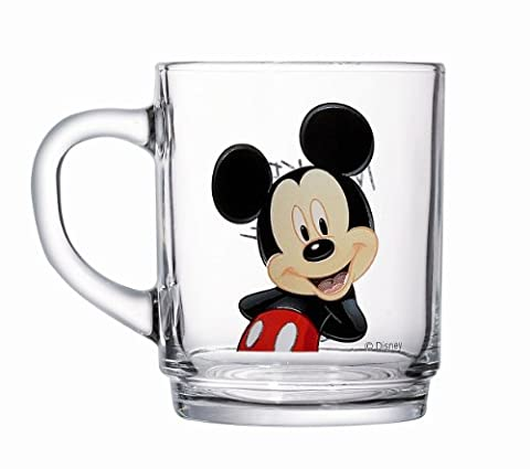 Luminarc 9299176 Lot de 6 Mugs Disney Mickey Verre 25 cl