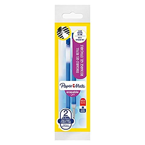 Stylo Effacable Paper Mate - PaperMate Erasable Gel recharges pour stylo gel