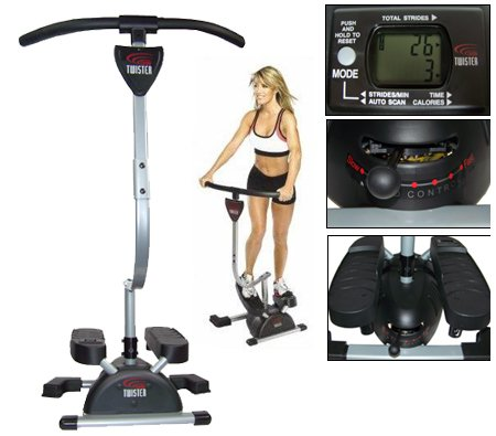 TV Das Original Cardio Twister Stepper
