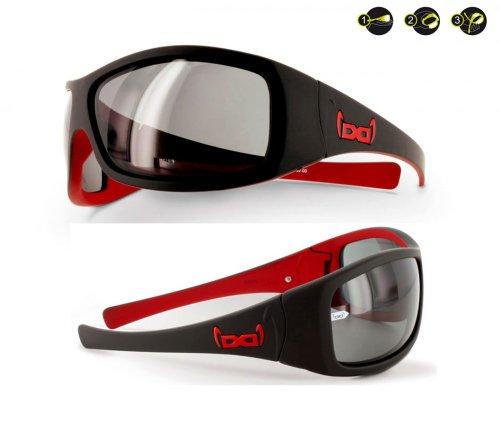 Gloryfy G3 unbreakable - Sonnenbrille, Color:devil black-red