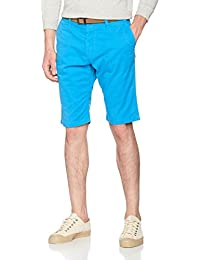 Tom Tailor Chino Bermuda with Belt, Short Homme