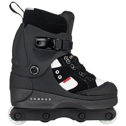 Anarchy Chaos 3 Aggressive Skates - Black - Size UK10 by Anarchy