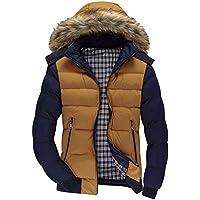 MEIbax Hombre Casual Chaqueta Jacket Cazadora Mangas Largas Cierre De Cremallera Outwear Tops Hombres, niños, ropa de abrigo, chaqueta de cremallera, abrigo de invierno, abrigo abrigos, blusa superior