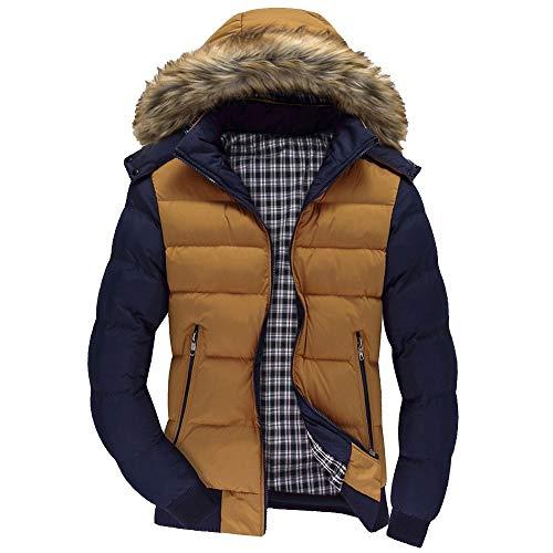 Yvelands Herren Jacke Mantel Top Bluse Casual Warm -
