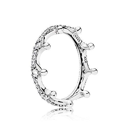 Pandora Ring 197087CZ-60 Enchanted Crown Gr 60 [W]