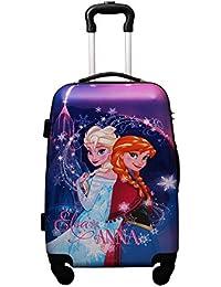 303db9da2316 GAMME Disney Frozen Princess Multicolour 20-inch Polycarbonate  Trolly  Luggage Hard Sided  Travel…