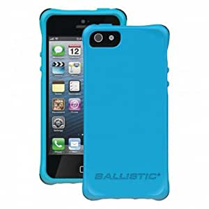 Apple Iphone 5/5s Agf Ballistic Smooth Series Case - Teal With Purple Teal White And Black Bumpers