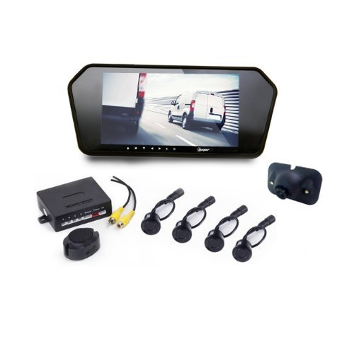 7-led-rvu-7r1-w-beeper-reversing-camera-kit-radar-screen