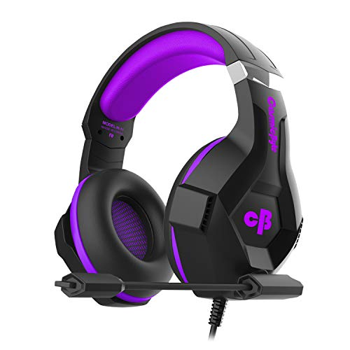 8. Cosmic Byte H11 Gaming Headset with Microphone (Black/Purple)