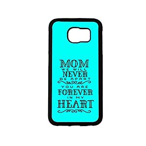 Vibhar printed case back cover for Samsung Galaxy S6 MomHeart