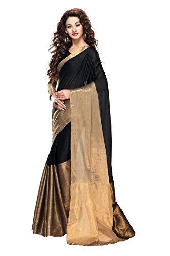 Vivera Women's Tussar Silk Saree(VRSURI_Multi-Coloured)