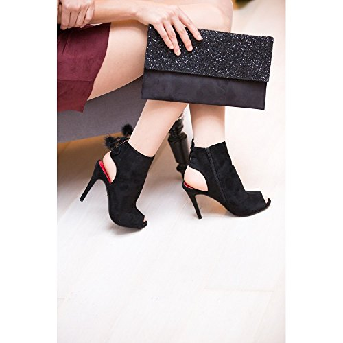 Ankle Ideais Sapatos Boots Botas E Pretas tvdd8qw