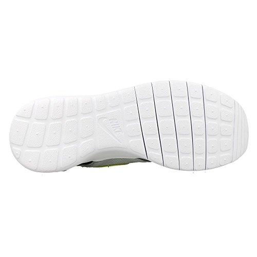Nike - Wolf Grey / Elctrc Grn-blck-wht, Scarpe sportive Bambino Grigio (Gris (Wolf Grey / Elctrc Grn-Blck-Wht))