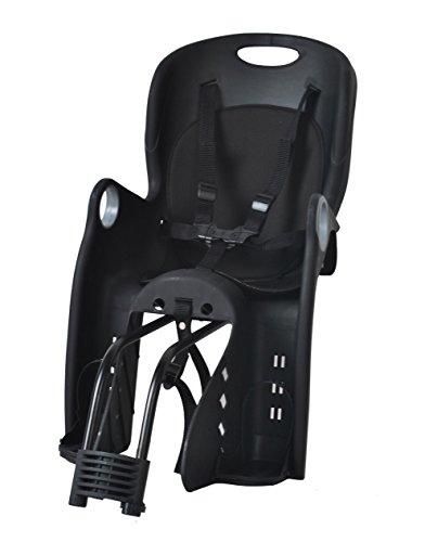 Iso Trade Kinderfahrradsitz Fahrradsitz Sicherheitssitz Fahrrad Kindersitz + Halterung #1623, Farbe:Schwarz