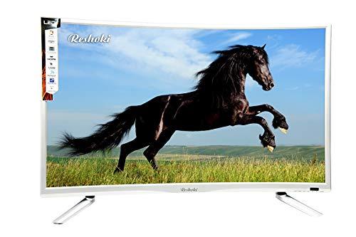 Reshoki 80 cm (32 inches) HD Ready Smart LED TV 3200C (Black) (2018 Model)