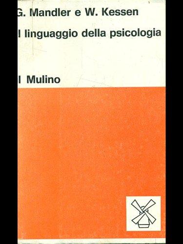 Il linguaggio della psicologia.
