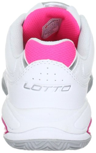 Lotto Sport Ariel W N8221, Scarpe Da Tennis Donna Bianco (Weiss (Wht05/Silver N))