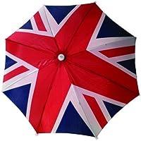Sombrero estilo paraguas con bandera de Reino Unido, Union Jack