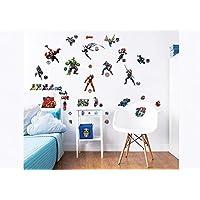 Walltastic Avengers Wall Stickers, Vinyl, Multi-Colour, 37.5 x 4 x 18 cm