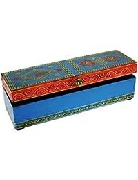 CAL FUSTER - Caja de madera pintada