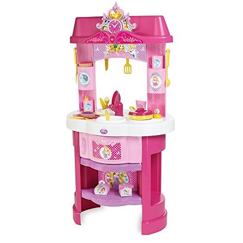 Smoby - 024023 - Princesses Disney - Jeu d'Imitation - Cuisine pour Enfant - 22 Accessoires Inclus