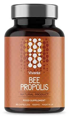 a86f3176f75 Bee Própolis - Propóleo de abeja - 1000 mg x 180 cápsulas