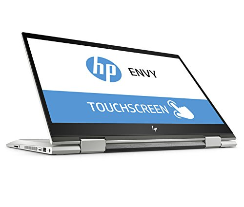 HP ENVY x360 15-cn1009ng 39,6 cm (15,6 Zoll Full HD IPS Touch) Convertible Notebook (Intel Core i7-8565U, 16GB DDR4 RAM, 512GB SSD, Nvidia GeForce MX150 4GB, Windows 10 Home) silber