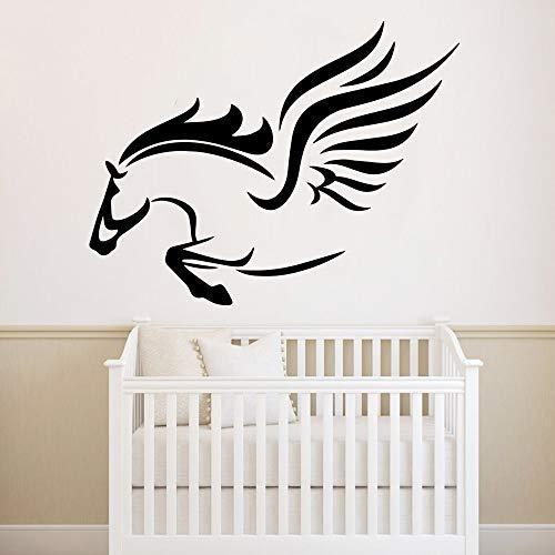 Tianpengyuanshuai Pegasus Design Pegatinas de Pared decoración de la habitación de los niños Sala...