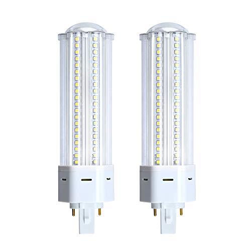 Bonlux G24 LED Lampe 22W Warmweiß 3000K PLC 2-PIN 360° Abstrahlwinkel Ersatz für Glühlampe 42W CFL (2Stück) -