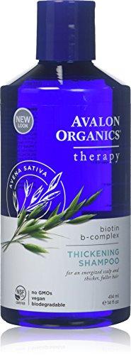 Avalon Organics Biotin B-Complex Thickening Shampoo - 14 oz - 2 Pack by Avalon Organics