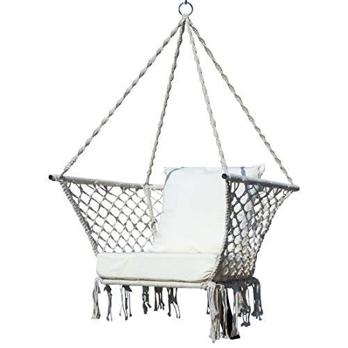 AS-S Design Chaise Suspendu Seat - Catalina avec Coussin extrêmement Confortable (sans Support) de