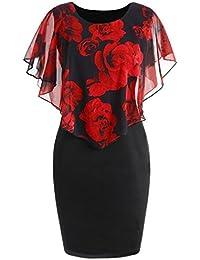 2c86d0ae0084 Amazon.es: Mango Vestido Rojo - 3XL / Mujer: Ropa