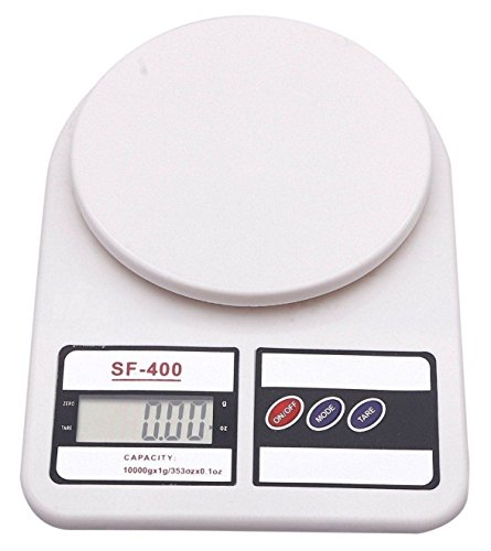 Bulfyss Electronic Kitchen Digital Weighing Scale 10 Kg (1 Year Warranty)