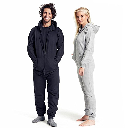 Neutral - Unisex Jumpsuit Sports Grey