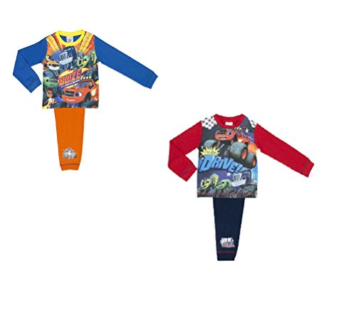2 pack blaze e il monster machines boys pigiama da 18 me - 18-24 months / 92 cms