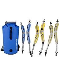 tfxwerws Kayak Skidproof seco bolso de la bolsa con correa para el hombro cinturón (amarillo)